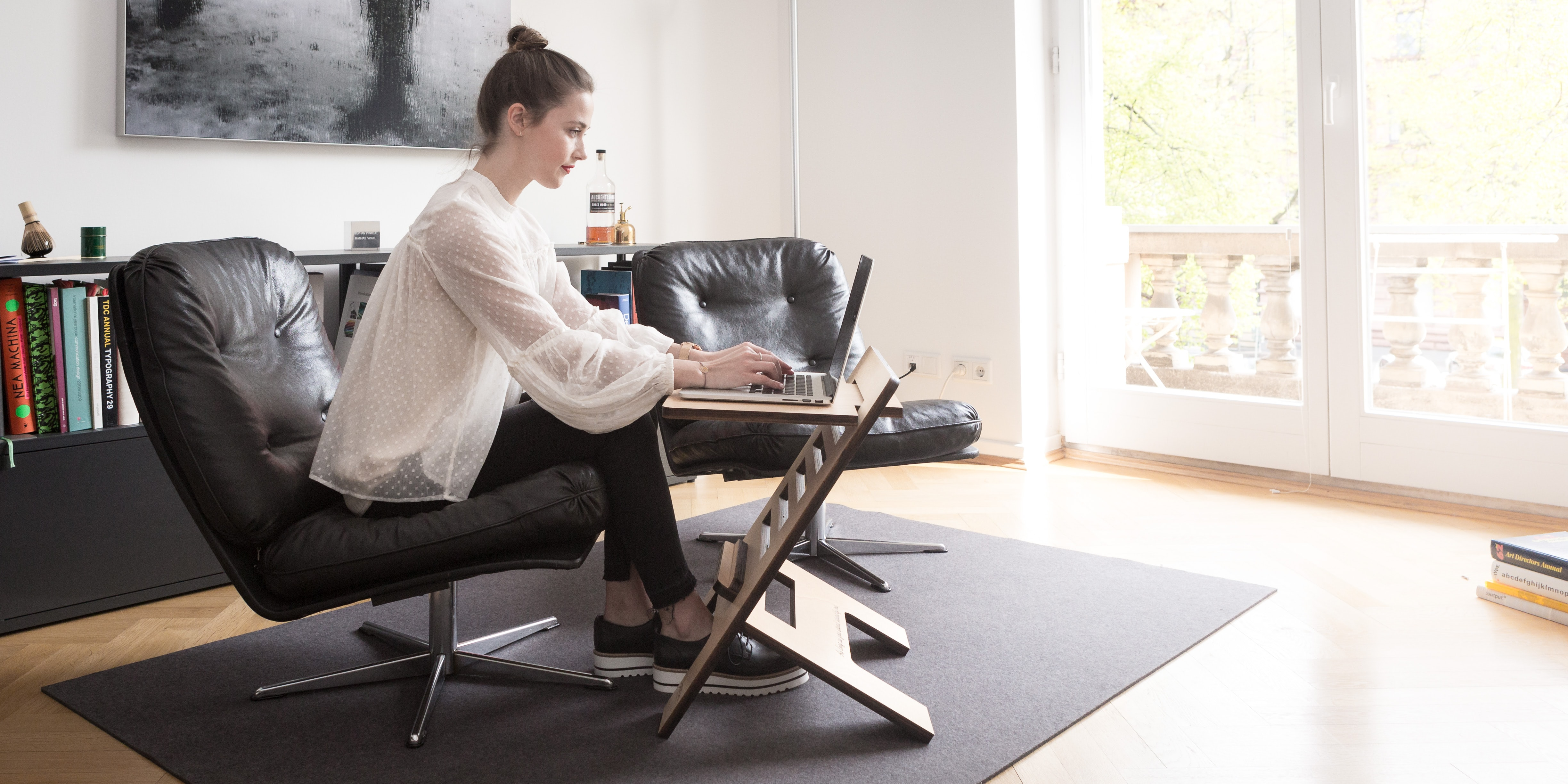 how to set up an at home office